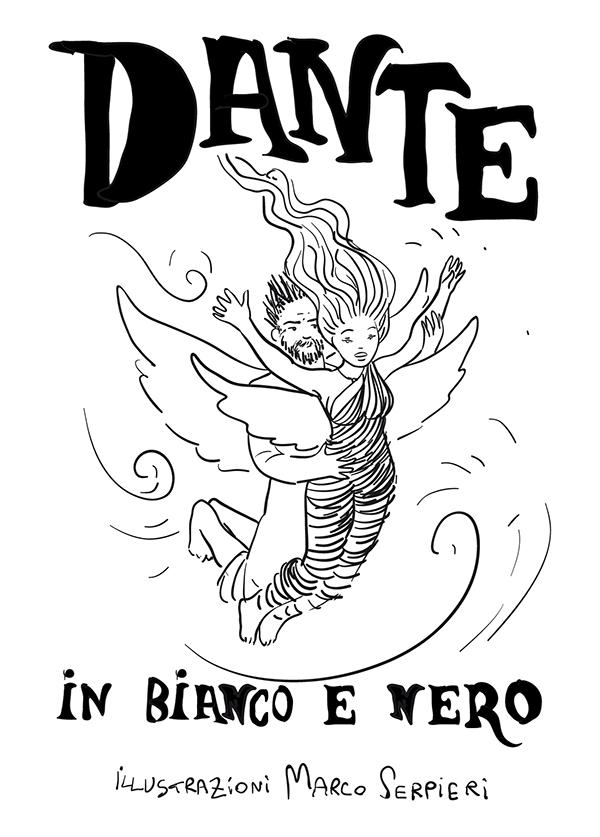 Dante in bianco e nero