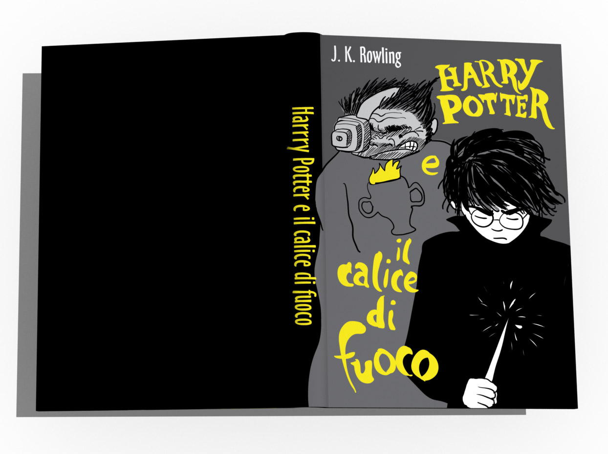 copertina harry potter